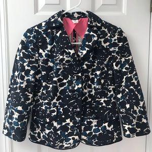 Women's J crew XS jacket blazer floral